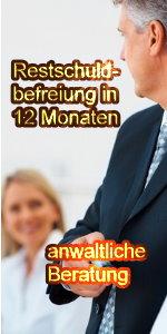 Restschuldbefreiung in 12 Monaten